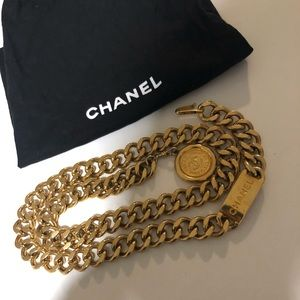 RARE❗️❗️AUTHENTIC CHANEL CHAIN BELT/NECKLACE